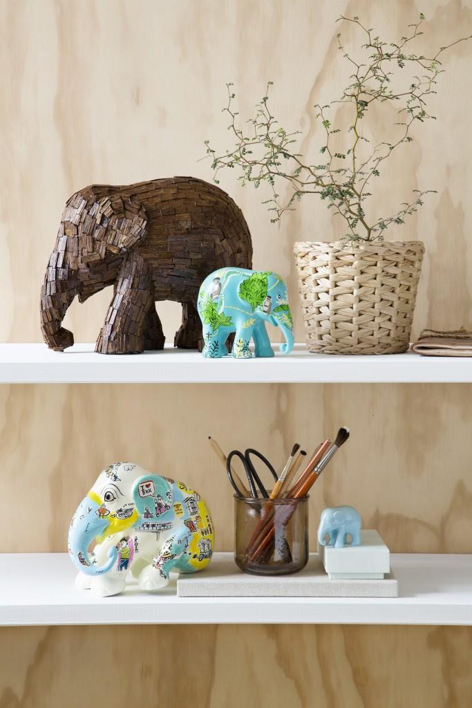 Elephant Parade, Rikki Tikki Company, fotografering og styling Anna Overholdt