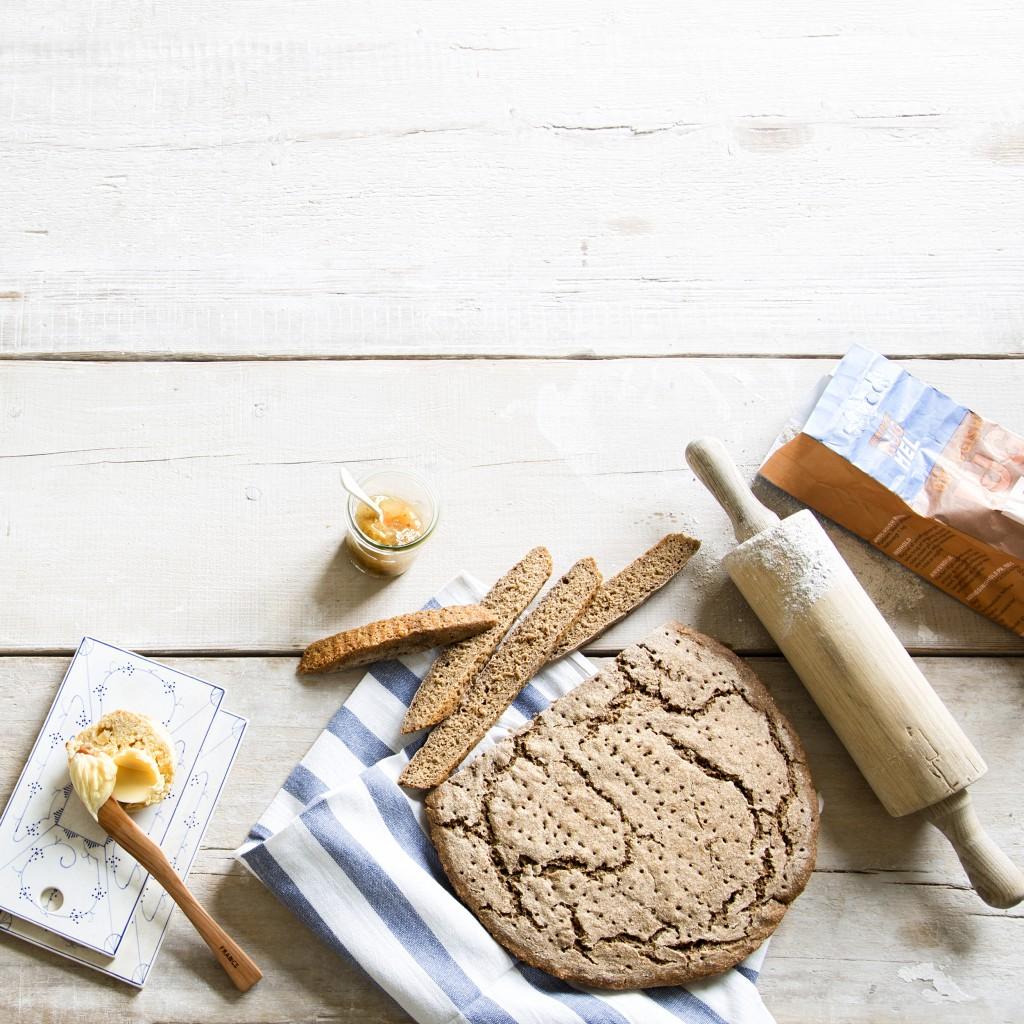 Spis Bedre, morgenbord med hjemmebag, Fotografering og Styling Anna Overholdt
